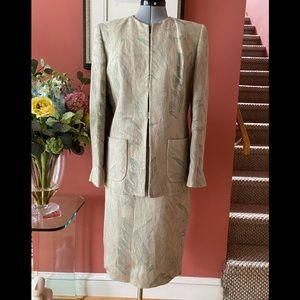 Vintage linen suit